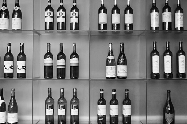 Wine gallery at Le Sherpa Restaurant